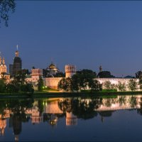 Прогулка по Москве. Новодевичий монастырь :: Владимир Демчишин