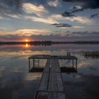 Купание на закате. :: Сергей Адигамов