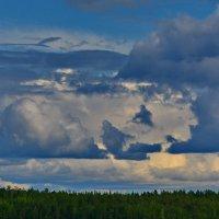 В облаках............. :: Валентина Папилова