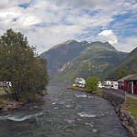 The River - beginning of fjord :: Roman Ilnytskyi