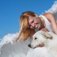 Матильда и ангел :: Аркадий Назаров