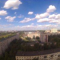 Вид с крыши многоэтажки :: Михаил Нименский