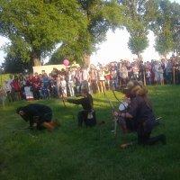 Меч Брачислава в Браславе-лучники 2 :: Дмитрий Гринкевич