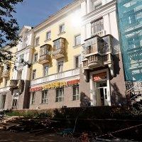 Дом на улице Первомайской, ранее улица Сталина :: Татьяна Губина