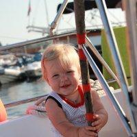 Маленькая капитанша :: Мила Дмитриева