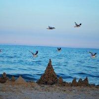 Замок на берегу Черного моря :: Ирина Божко
