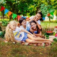 """Мои очаровательные девчонки и наше """"Арбузное настроение"""" :: Кристина Беляева"""