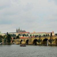 Карлов мост перед грозой :: Эльдар (Eldar) Байкиев (Baykiev)