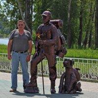 Встреча  с  настоящим  туристом. :: Vlad Borschev
