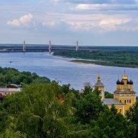 Муром. Вид на Оку и мост :: Дмитрий Сиялов