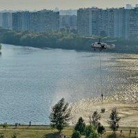 На тушении пожара :: Владимир Брагилевский