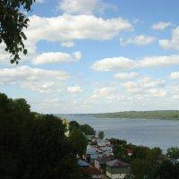 Волга в Плесе :: Евгения Куприянова