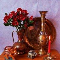 Пока горит свеча... :: Nina Yudicheva