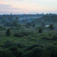Ушло Светило, туманом заполняются лощины. :: Laborant Григоров