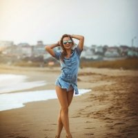 Песчаный берег :: Марьяна .