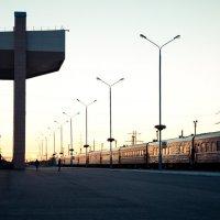 Закат на вокзале :: f_lorik