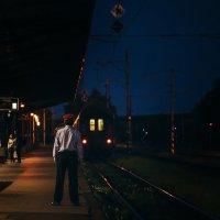 Тот, кто провожает поезда... :: Елизавета Вавилова