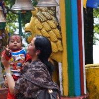 Индия. Индуиский храм :: Gal` ka