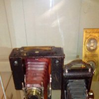 Старинные фотоаппараты (конец 19 в.-нач. 20 в.). Музей Петропавловская крепость. :: Светлана Калмыкова