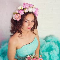 Цветочная фея :: Надежда Батискина