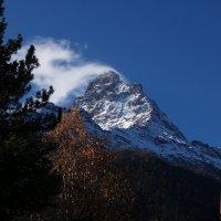 Домбай, гора Алибек-Баши :: Александр Топчиев