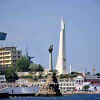 Город  - герой Севастополь .Крым :: Гриша  6х9 или 9х12