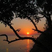 солнце спать ложится.... :: Ксения смирнова
