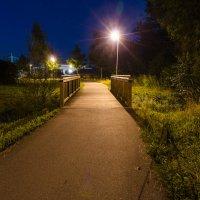 Фонарь и мостик :: Eugen Pracht