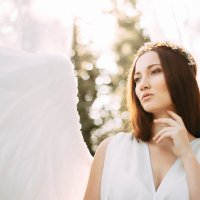 фотопроект в образе ангела :: Алина Дорофеева
