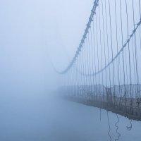 Мост в туман :: Елена Баландина
