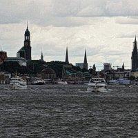 Hafen. Hamburg :: Nina Yudicheva