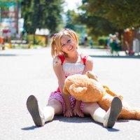 Девушка в Парке. Детская фотосессия. Детский фотограф Руслан Кокорев. :: Руслан Кокорев
