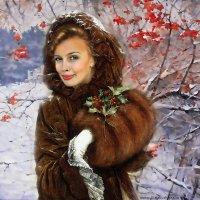 В снегу калина красная..... :: И. Игонин