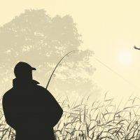 Зарисовки о рыбалке. :: Gimp Fanat Евгений Щербаков