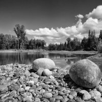 Катунский пейзаж :: Алексей Тырышкин