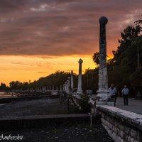 нереальный закат,Сухум,Абхазия :: Cain Amberskii
