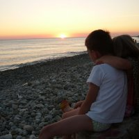 Любование закатом :: Надежда