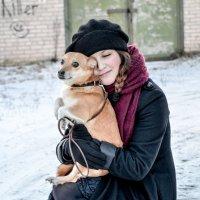 Им вместе тепло даже в -25) :: Viktory Fedorova