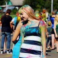 на фестивале красок :: Сергей Кочнев