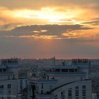Киев. Закат. :: Марина Грицай