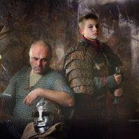 Отец и сын :: Вероника Саркисян
