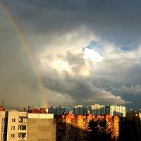 чтобы увидеть радугу, надо сначала пережить дождь :: Екатерина и Иван Гирда