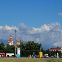 В парке Олимпийском :: Александр