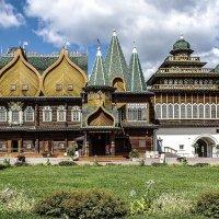 Царский дворец в Коломенском :: Николай Кандауров