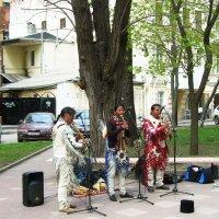 Музыканты добрались и до нашего города :: татьяна