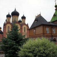 Успенский собор и Симеоно-Аннинская церковь (1895 год), объединенная с трапезной :: Елена Павлова (Смолова)