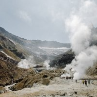 В кратере вулкана Мутновский :: Станислав Маун