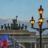 На Дворцовой площади :: Ирина Новожилова