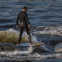 Серфинг на гладкой воде :: Андрей Вигерчук