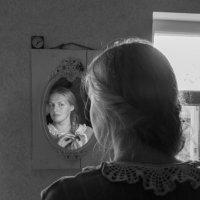 Портрет с отражением :: Татьяна Копосова